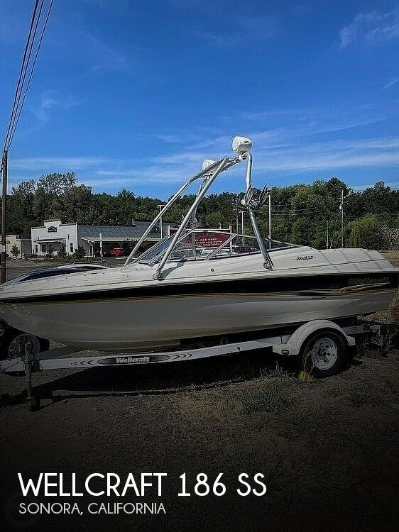 2001 WELLCRAFT 186 SS for sale