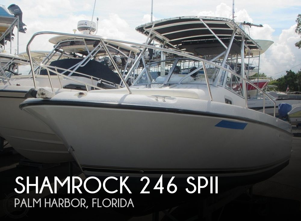 2003 Shamrock boat for sale, model of the boat is 246 SPII & Image # 1 of 40