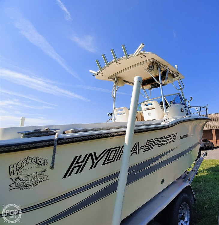 1988 Hydra-Sports boat for sale, model of the boat is 2200 WA & Image # 6 of 40