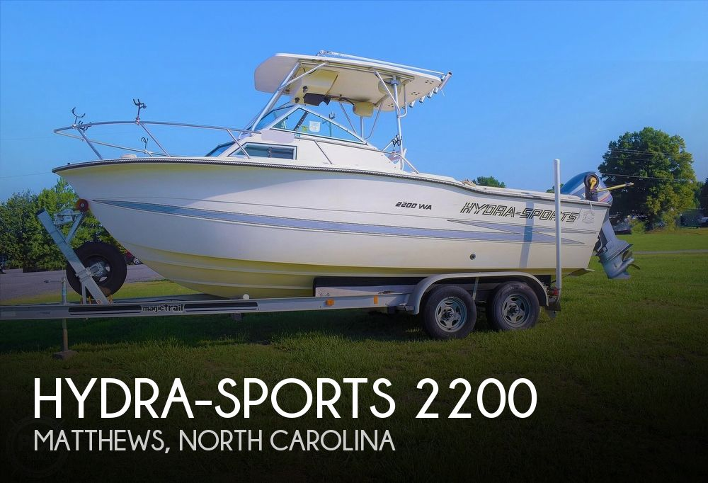 1988 Hydra-Sports boat for sale, model of the boat is 2200 WA & Image # 1 of 40