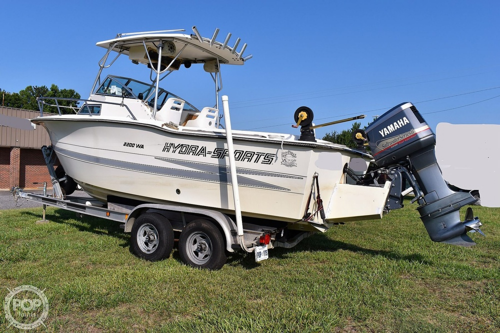 1988 Hydra-Sports boat for sale, model of the boat is 2200 WA & Image # 13 of 40