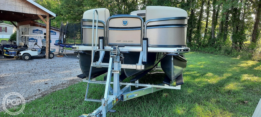 2021 Premier Pontoons boat for sale, model of the boat is 230 Solaris RF & Image # 29 of 40