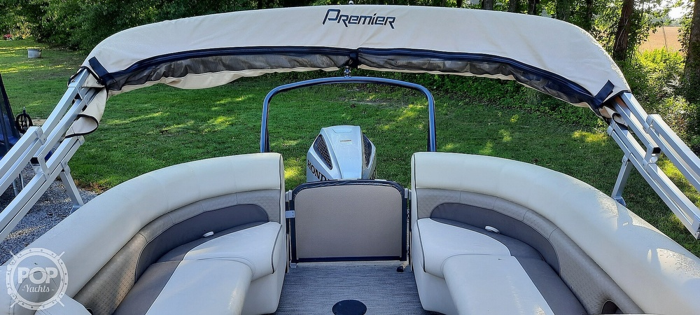 2021 Premier Pontoons boat for sale, model of the boat is 230 Solaris RF & Image # 34 of 40