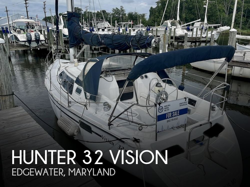 1989 Hunter boat for sale, model of the boat is 32 Vision & Image # 1 of 40