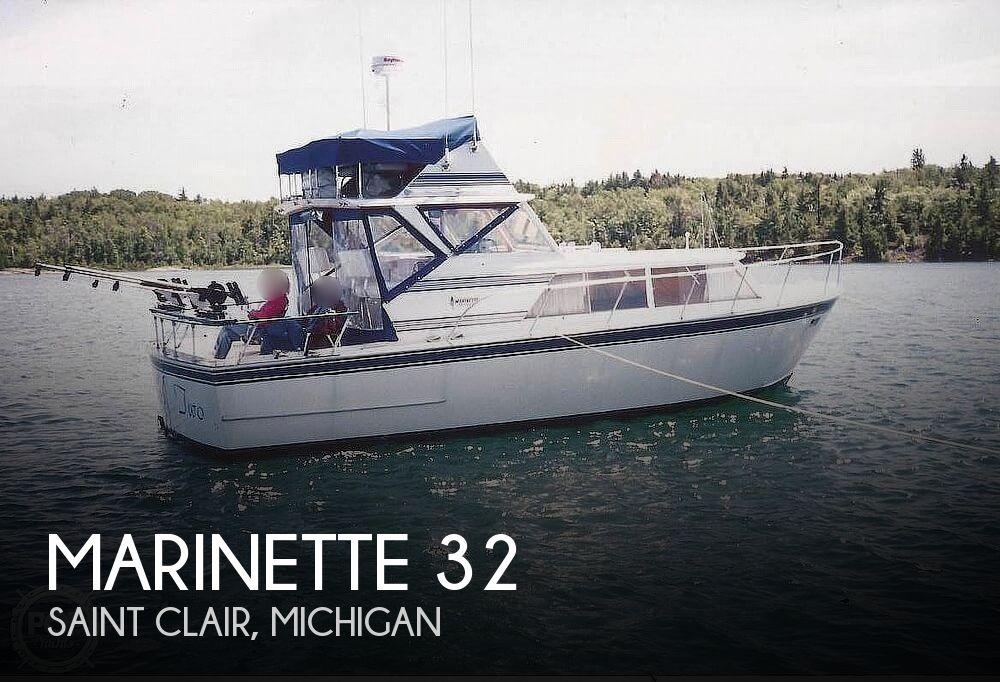 1973 MARINETTE 32 EXPRESS FISHERMAN for sale