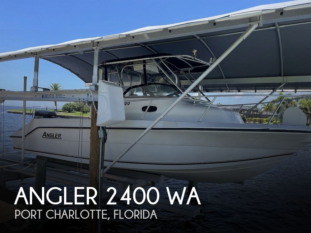 2001 American Angler boat for sale, model of the boat is 2400 WA & Image # 1 of 40