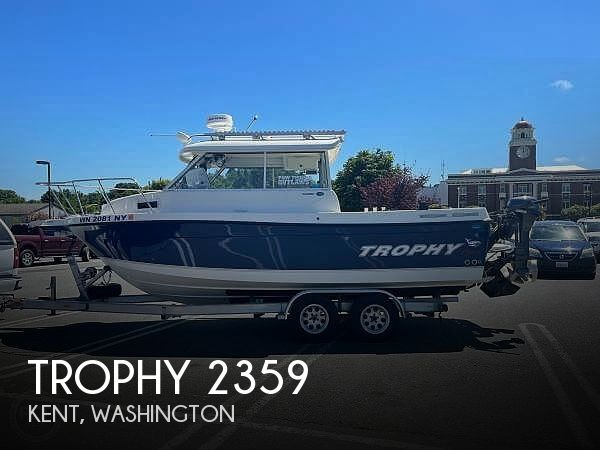 Used Trophy Boats For Sale in Washington by owner   2008 Trophy 2359