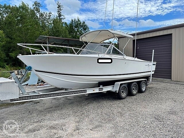 1988 Albemarle boat for sale, model of the boat is 24 express & Image # 2 of 40