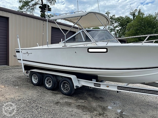 1988 Albemarle boat for sale, model of the boat is 24 express & Image # 4 of 40