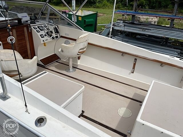1988 Albemarle boat for sale, model of the boat is 24 express & Image # 27 of 40