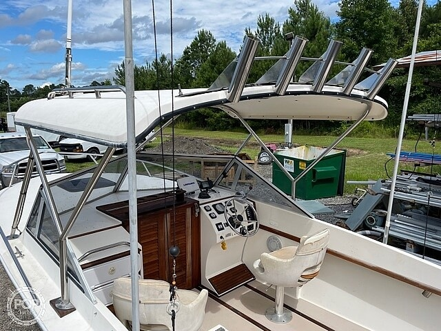 1988 Albemarle boat for sale, model of the boat is 24 express & Image # 29 of 40
