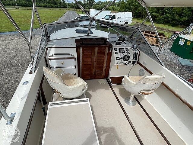 1988 Albemarle boat for sale, model of the boat is 24 express & Image # 33 of 40
