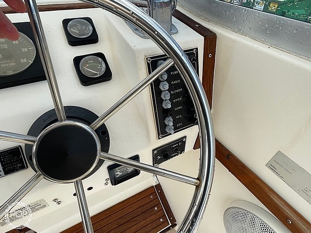 1988 Albemarle boat for sale, model of the boat is 24 express & Image # 40 of 40