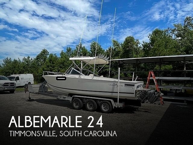 1988 Albemarle boat for sale, model of the boat is 24 express & Image # 1 of 40