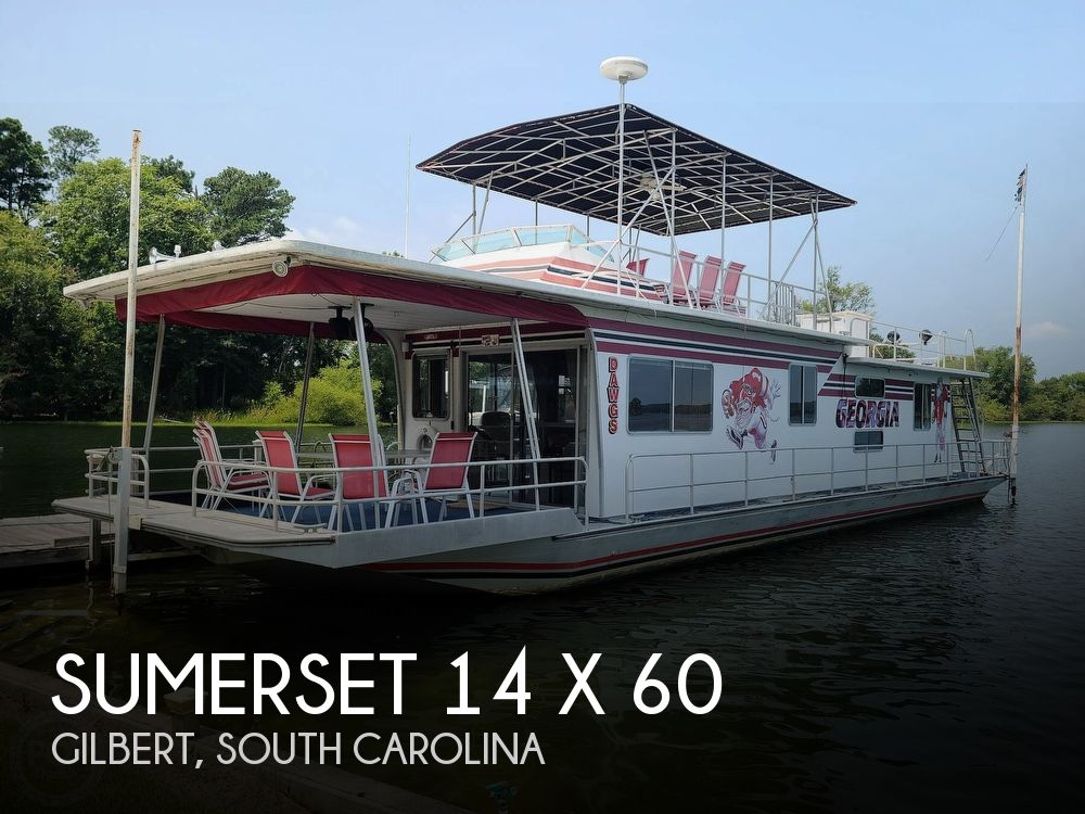 1985 Sumerset Houseboats boat for sale, model of the boat is 14 x 60 & Image # 1 of 40