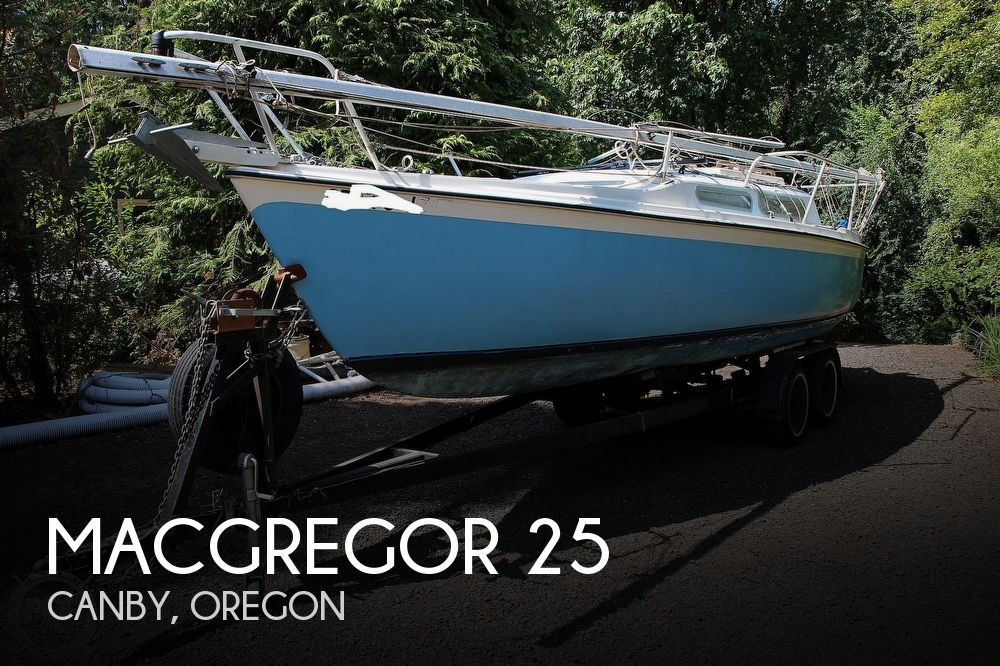 1978 Macgregor boat for sale, model of the boat is Venture 25 & Image # 1 of 40