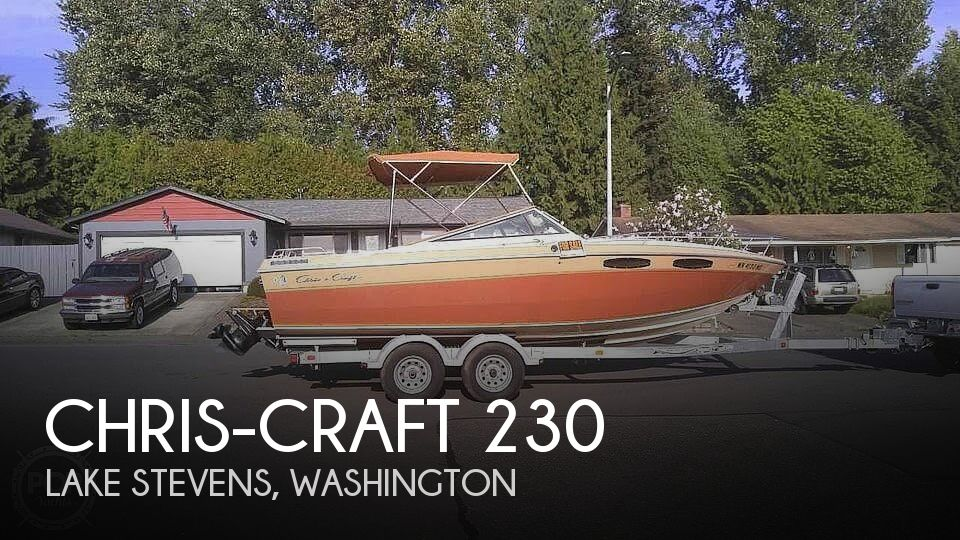 Used Chris Craft Boats For Sale in Washington by owner | 1983 Chris-Craft 230 Scorpion