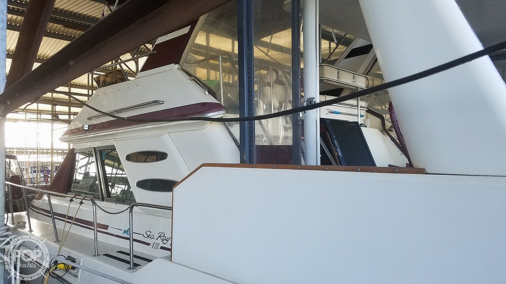 1987 Sea Ray boat for sale, model of the boat is 410 Aft Cabin & Image # 9 of 40