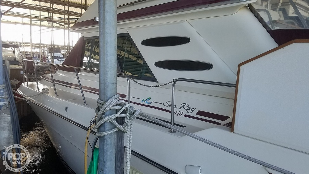 1987 Sea Ray boat for sale, model of the boat is 410 Aft Cabin & Image # 11 of 40