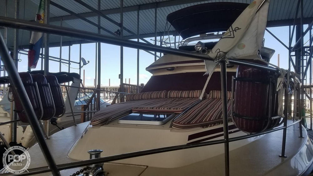 1987 Sea Ray boat for sale, model of the boat is 410 Aft Cabin & Image # 28 of 40
