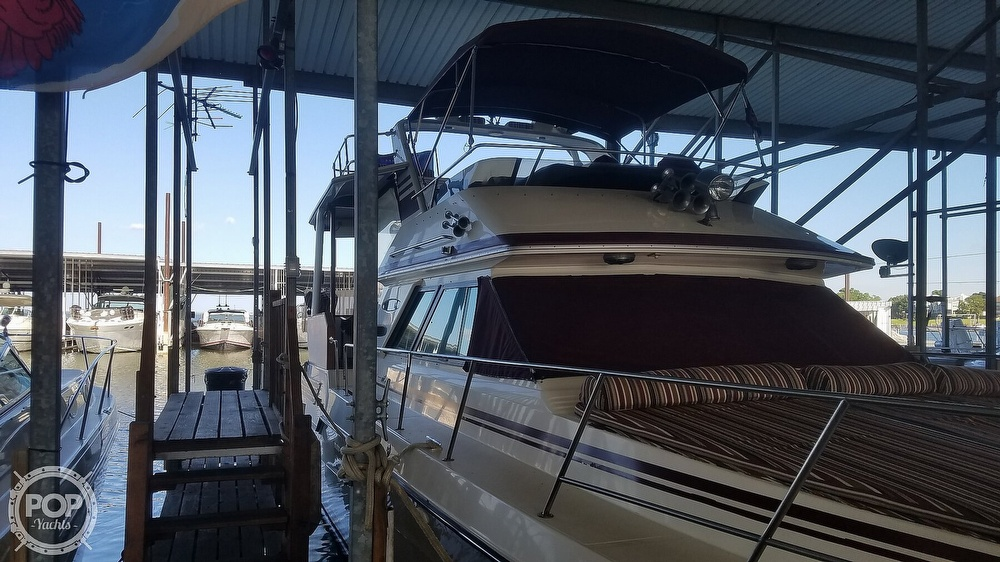 1987 Sea Ray boat for sale, model of the boat is 410 Aft Cabin & Image # 34 of 40