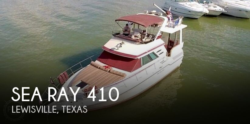 1987 Sea Ray boat for sale, model of the boat is 410 Aft Cabin & Image # 1 of 40