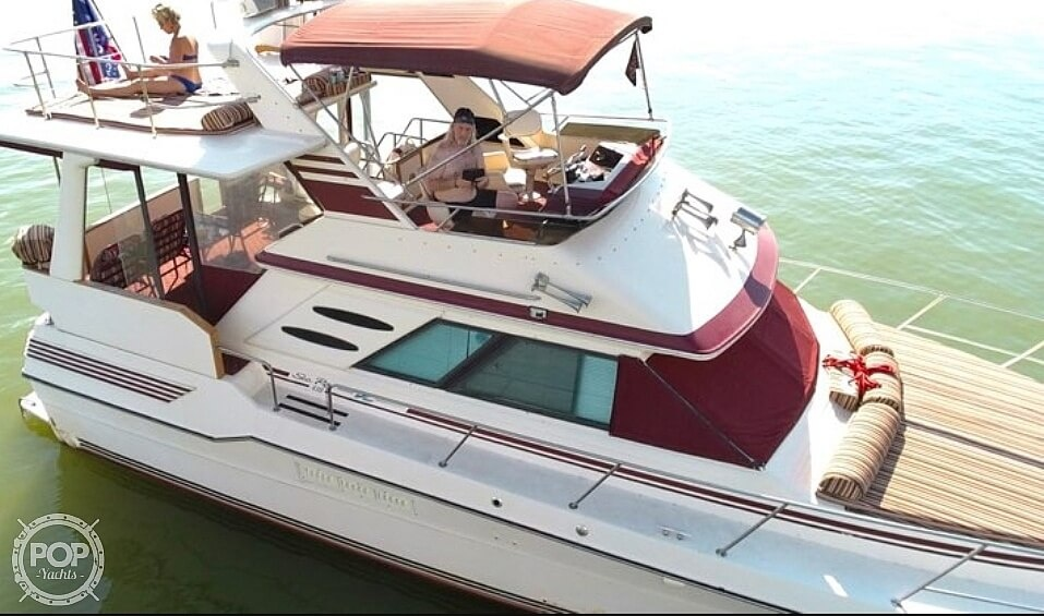 1987 Sea Ray boat for sale, model of the boat is 410 Aft Cabin & Image # 2 of 40