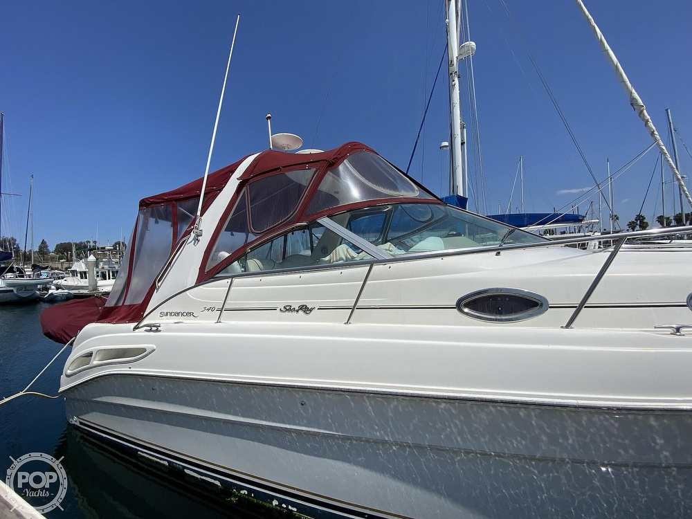 2000 Sea Ray boat for sale, model of the boat is 340 Sundancer & Image # 10 of 40