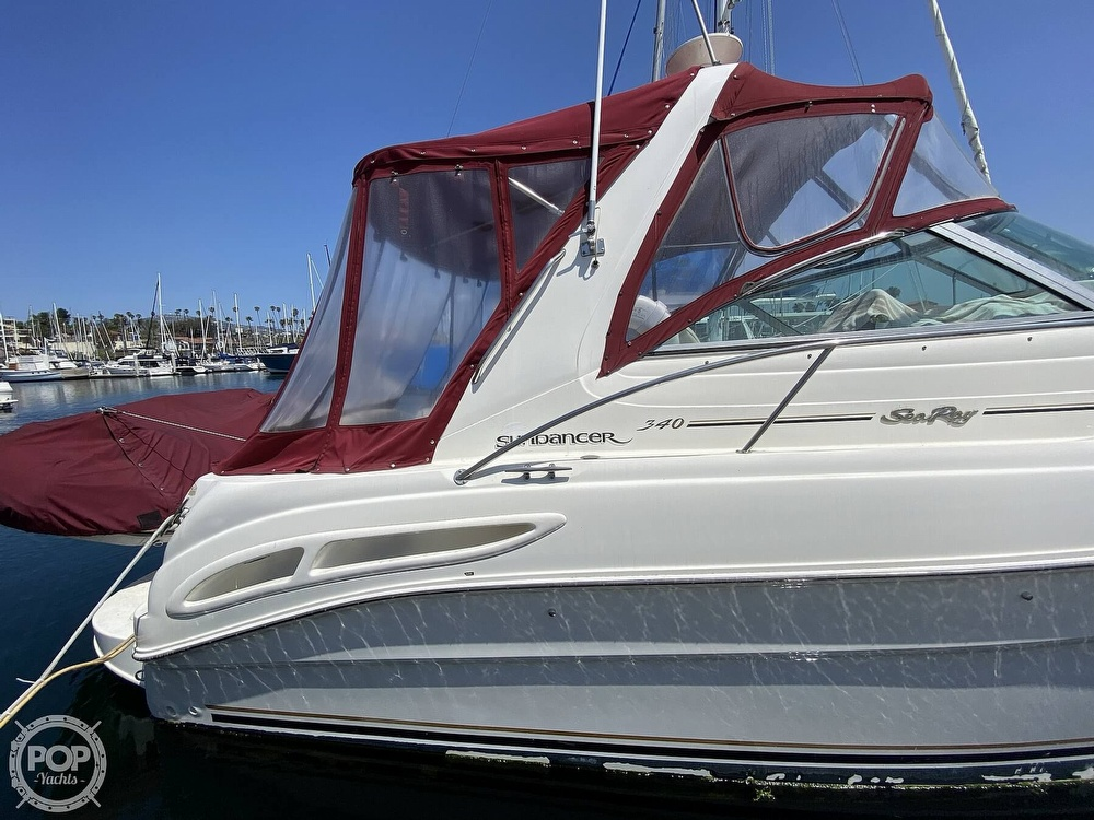 2000 Sea Ray boat for sale, model of the boat is 340 Sundancer & Image # 11 of 40