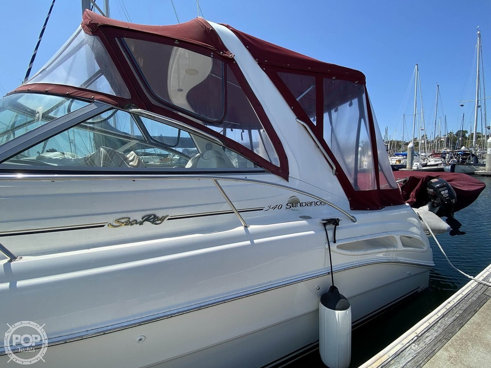 2000 Sea Ray boat for sale, model of the boat is 340 Sundancer & Image # 20 of 40