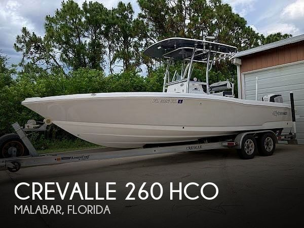 Used Power boats For Sale in Palm Bay, Florida by owner | 2018 Crevalle 260 Hco