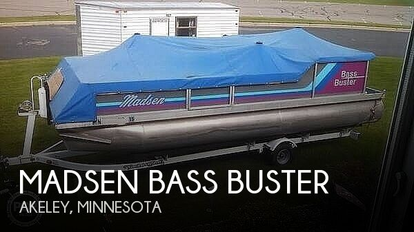 1990 Madsen boat for sale, model of the boat is Bass Buster & Image # 1 of 7