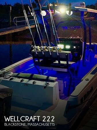 Used Wellcraft Fishing boats For Sale by owner   2020 Wellcraft 222 Fisherman