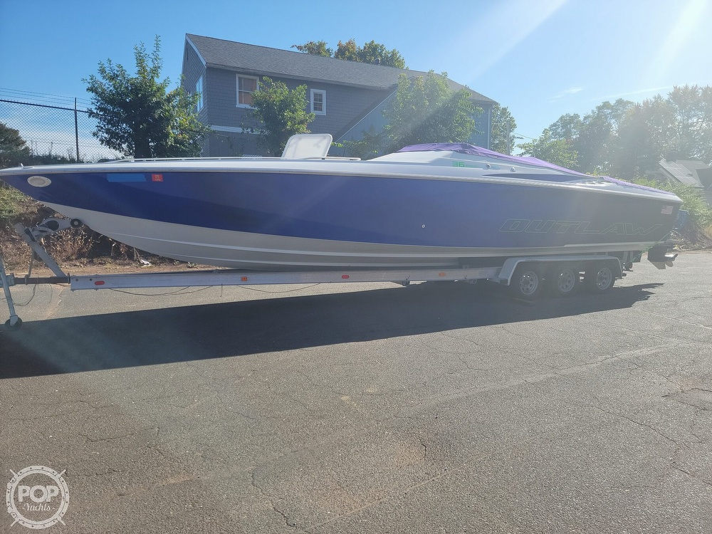 1999 Baja boat for sale, model of the boat is 36 Outlaw & Image # 4 of 40
