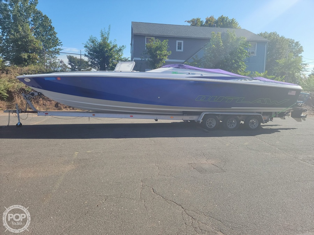1999 Baja boat for sale, model of the boat is 36 Outlaw & Image # 5 of 40
