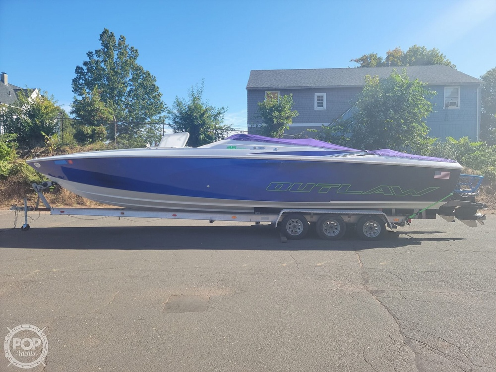1999 Baja boat for sale, model of the boat is 36 Outlaw & Image # 7 of 40