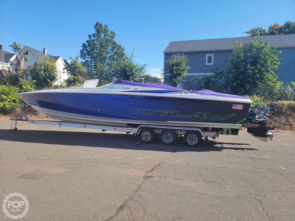 1999 Baja boat for sale, model of the boat is 36 Outlaw & Image # 8 of 40
