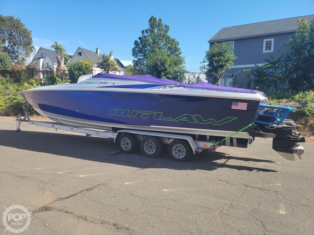 1999 Baja boat for sale, model of the boat is 36 Outlaw & Image # 9 of 40
