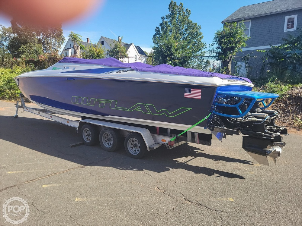 1999 Baja boat for sale, model of the boat is 36 Outlaw & Image # 10 of 40