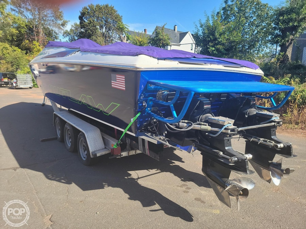 1999 Baja boat for sale, model of the boat is 36 Outlaw & Image # 11 of 40
