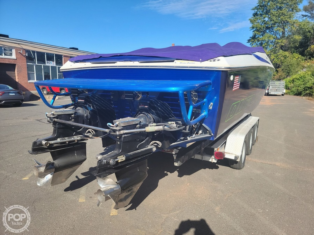 1999 Baja boat for sale, model of the boat is 36 Outlaw & Image # 13 of 40
