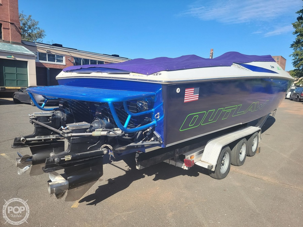 1999 Baja boat for sale, model of the boat is 36 Outlaw & Image # 14 of 40