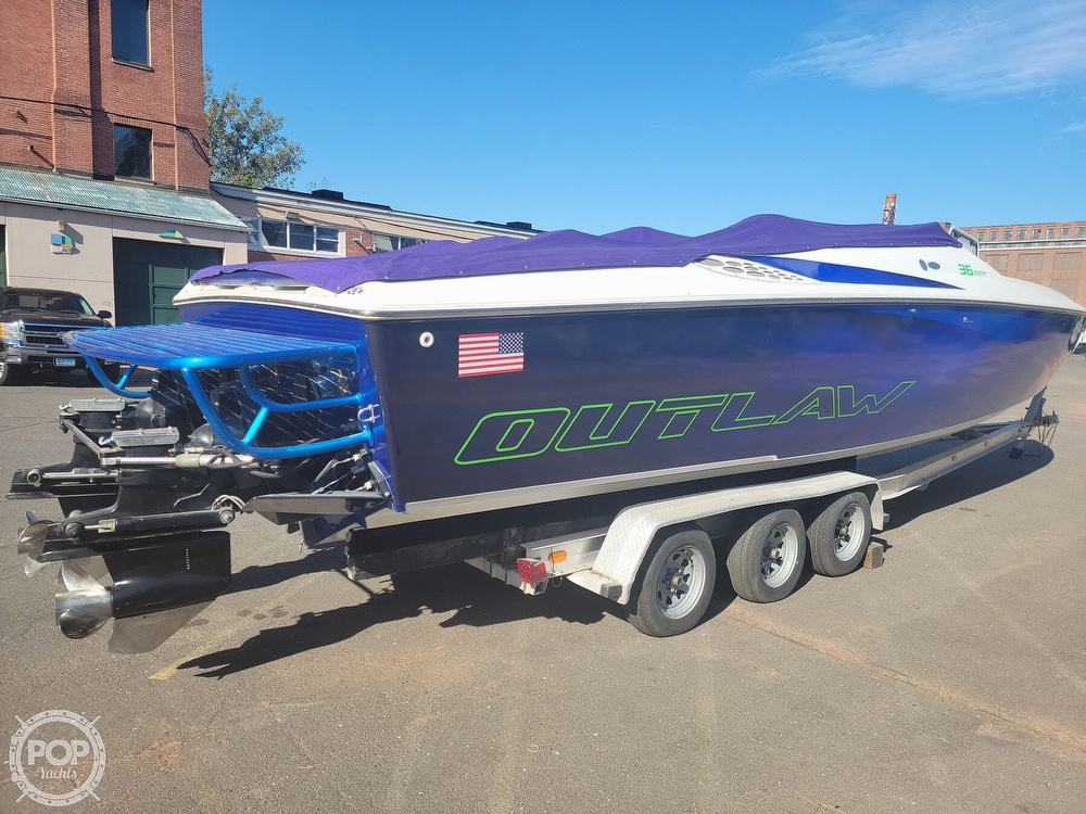 1999 Baja boat for sale, model of the boat is 36 Outlaw & Image # 15 of 40