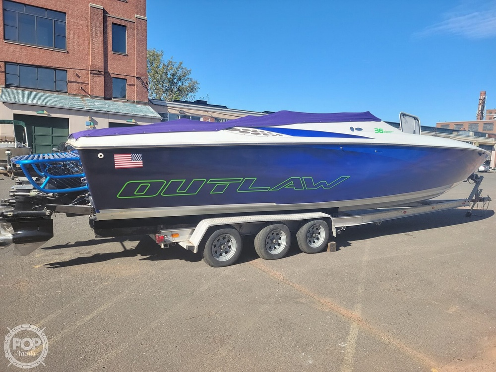 1999 Baja boat for sale, model of the boat is 36 Outlaw & Image # 16 of 40