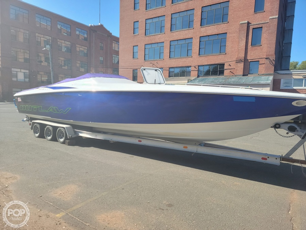 1999 Baja boat for sale, model of the boat is 36 Outlaw & Image # 17 of 40