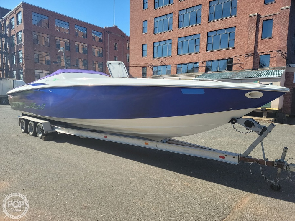 1999 Baja boat for sale, model of the boat is 36 Outlaw & Image # 18 of 40