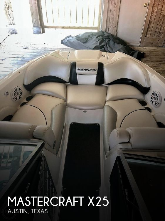 Used Power boats For Sale in San Antonio, Texas by owner | 2010 Mastercraft X25
