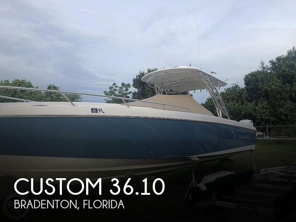 2007 CUSTOM 36.10 for sale