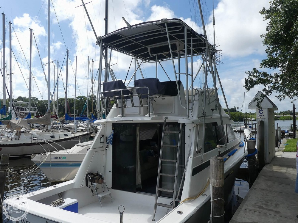 1988 Luhrs boat for sale, model of the boat is 342 Tournament & Image # 2 of 40