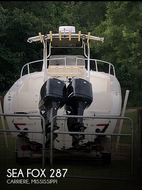 2003 Sea Fox boat for sale, model of the boat is 287 & Image # 1 of 9